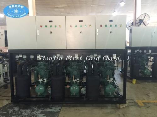 Compresor de refrigeración de la unidad paralela de pistón de alta temperatura