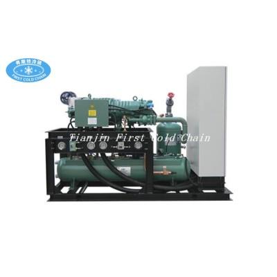 Cámara fría o compresor de almacenamiento en frío y unidad de condensación