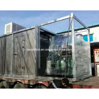 Almacenamiento de contenedor frío de vacuna farmacéutica para unidad de condensación
