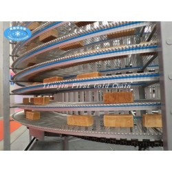 Bakery equipment Toast bread spiral cooling tower ,spiral cooling conveyor