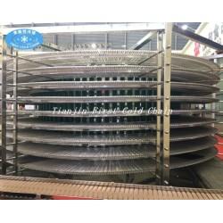 pan hamburguesa tostada espiral torre de enfriamiento (fabricante)