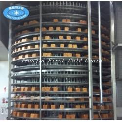 Controle la torre de enfriamiento del equipo que cuece para el pan del transportador
