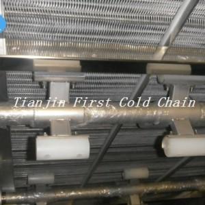 Fabricado en China congelado rápido / congelador IQF 500 kg / h maquinaria para papas fritas congeladas
