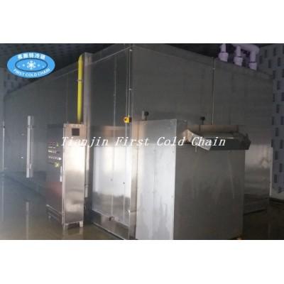 Congelador individualmente rápido de fluidización de alta calidad con entrega rápida