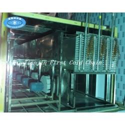 Cámara de fluidización Quick Freezer / IQF túnel de congelación rápida