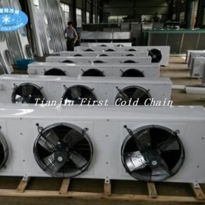 Evaporador refrescado aire de encargo de la venta caliente para la cámara fría / la congelación rápida