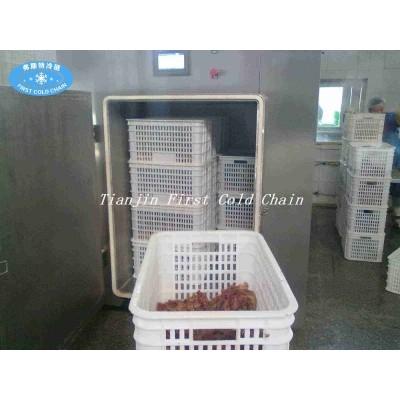 Máquina de pre enfriamiento de vacío para frutas vegrtables frescas para procesamiento de alimentos