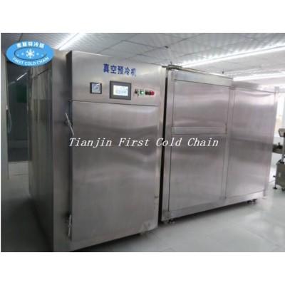 Máquina estándar internacional de pre-enfriamiento al vacío para vegetales y frutas