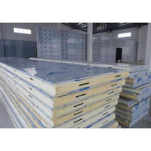 Polyurethane/PU sandwich insulation foam board for cold storage