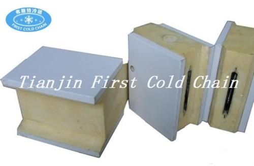 Paneles sándwich de poliuretano de alta calidad para cámaras frigoríficas / cámaras frigoríficas