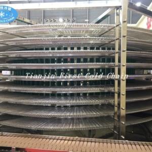 Tour de refroidissement en spirale entièrement automatique de haute qualité