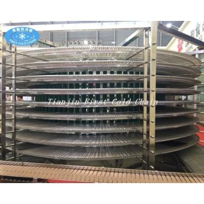 Torre de enfriamiento espiral completamente automática de alta calidad del fabricante