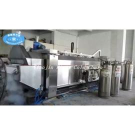 Ampliamente utilizado máquina de congelación de nitrógeno líquido