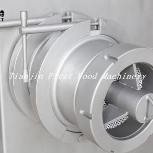 Máquina de procesamiento de alimentos de forzen máquina de picadora de carne picadora