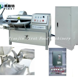 Máquina excelente del cortador / del interruptor del cuenco de la carne de alta velocidad y mezcladora
