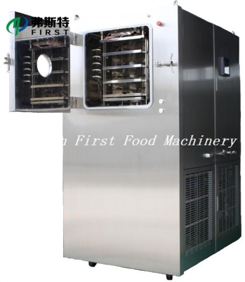 Pequeña máquina de liofilización para procesamiento médico y de alimentos.