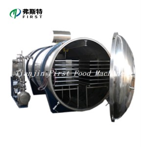 Food Lyophilizer Vegetable and Fruit Vacuum Freeze Dry Machinery