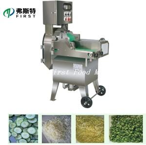 Découpeuse de légumes industrielle commerciale de personnalisation de haute qualité