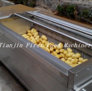 Машина для очистки картофеля / Машина для очистки томатов