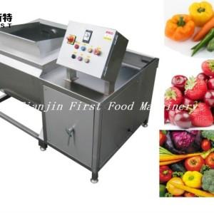 Machine automatique de lavage et de pelage de pommes de terre en acier inoxydable