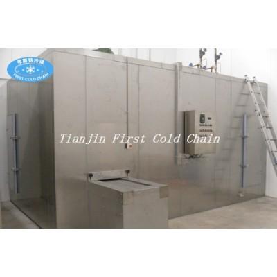 Congelador rápido espiral doble 1500kg / h Ventas calientes de China Congelador rápido