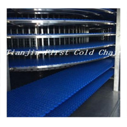 China espiral de alta calidad torre de enfriamiento / uso del transportador para el pan / la tostada