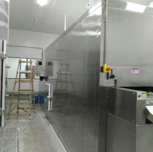 Congelador rápido de cama de fluidización SLD / Fluidization Congelador de máquina / túnel de IQF