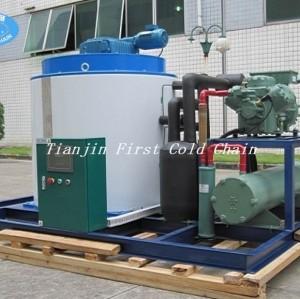 máquina de hielo máquina de corte tipo 8000kg / 24 flack máquina de hielo