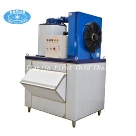 Máquina de hielo en escamas de alta calidad 1T / 24H para mariscos