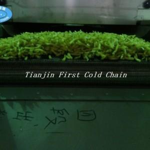 Cadena de producción de las patatas fritas / patatas fritas congeladas automáticas excelentes para China