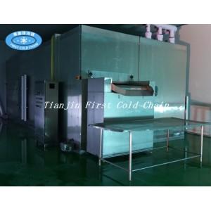 Флюидизированный морозильник в основном используется для переработки замороженных фруктов и овощей