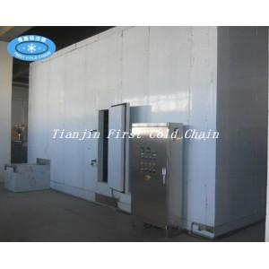 Máquina de congelación rápida de doble tornillo