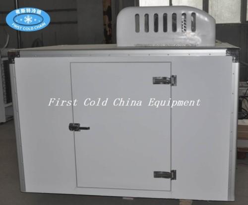 Triciclo de refrigeración eléctrico Van cargo / transporte de leche / camión de helados