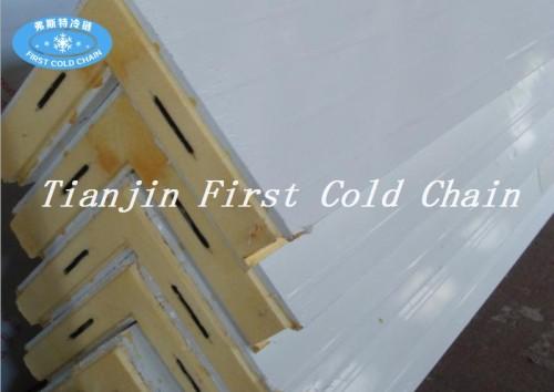 Tablero de espuma aislante de sándwich de poliuretano / PU para almacenamiento en frío