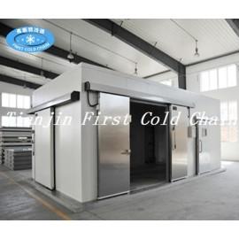 Panel de PU de alta calidad, cámara frigorífica para carnes, frutas y verduras