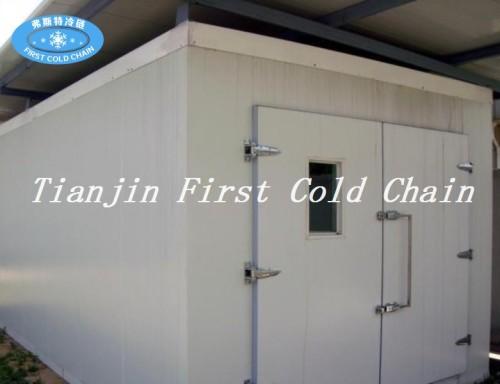 Pequeña cámara frigorífica / sala con equipos de refrigeración