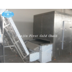China first cold chain automation 500kg/h  frozen french fries production line/potato chips production line
