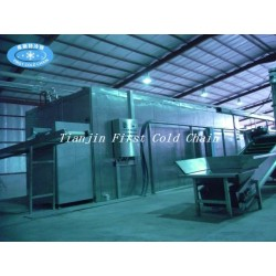 Industrial frozen french fries production line / Frozen french fries machinery