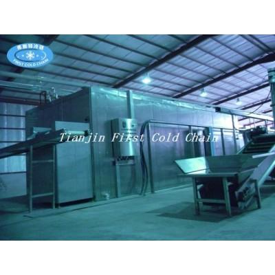 Línea de producción de papas fritas industriales / maquinaria para papas fritas congeladas