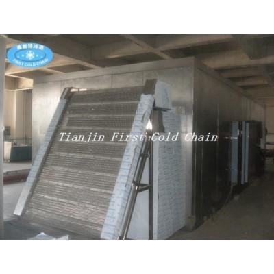 Línea de producción de papas fritas congeladas automática / Equipo de producción de papas fritas congeladas