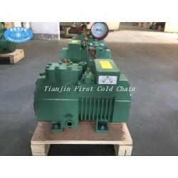 Compresor de refrigeración de pistón semihermético rentable en China para cámara frigorífica