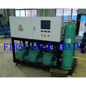 Unités de condensation de compresseur de réfrigération utilisées pour le stockage à froid des chambres froides