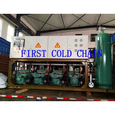 Unidad de compresor de tornillo de enfriamiento de aire comprimido