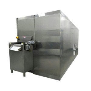 Made in china fluidized quick freezer /IQF freezer 500kg/h machinery for frozen fries