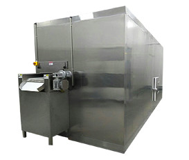 Made in China Fluidized bed freezer / IQF freezer 500kg/h for frozen fries