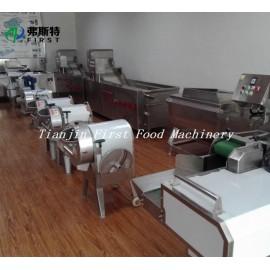 Nuevo producto de diseño y excelente máquina de corte de cubos de frutas vegetales.