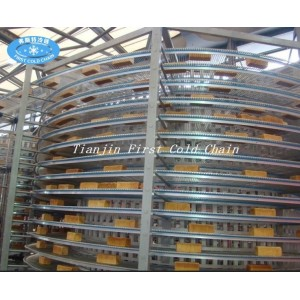 Spiral cooler tower from China high quality /conveyor use for Bread/Toast