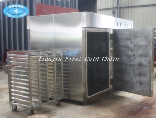 Máquina estándar internacional de pre-enfriamiento al vacío para vegetales