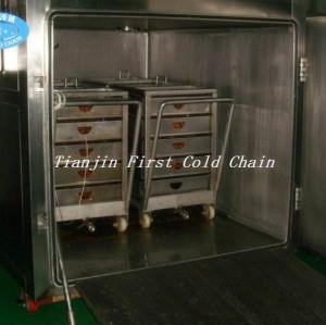Máquina estándar internacional de pre-enfriamiento al vacío para vegetales y frutas / pre-enfriadores