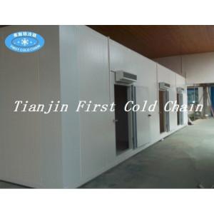 Entrepôt frigorifique de haute qualité / chambre froide pour la conservation des aliments en Chine